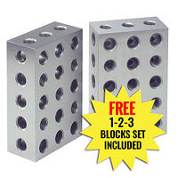 2-4-6 blocks with 1-2-3 blocks for home machinists