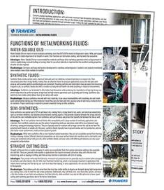 Metalworking Fluids Guide