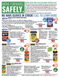 Covid 19 Response Sales Flyer