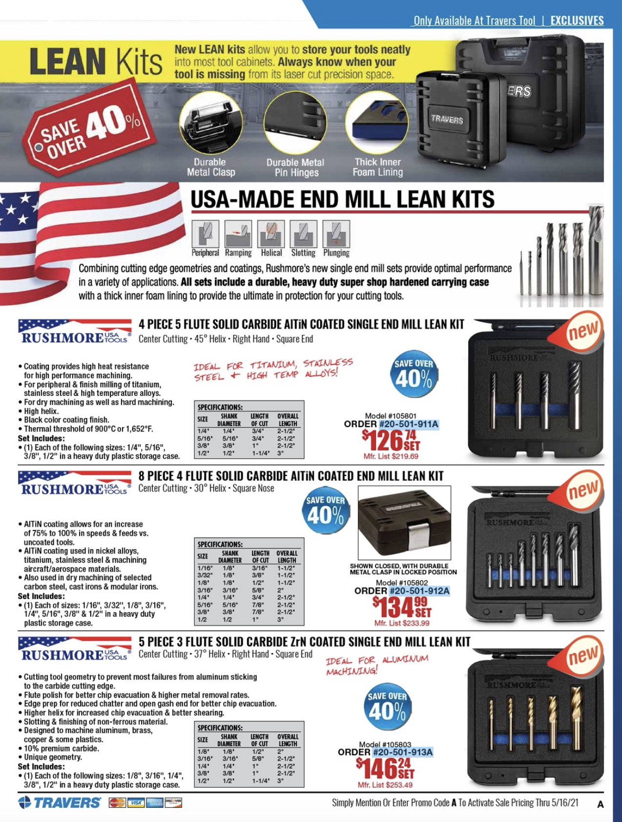 exclusive lean manufacturing kits